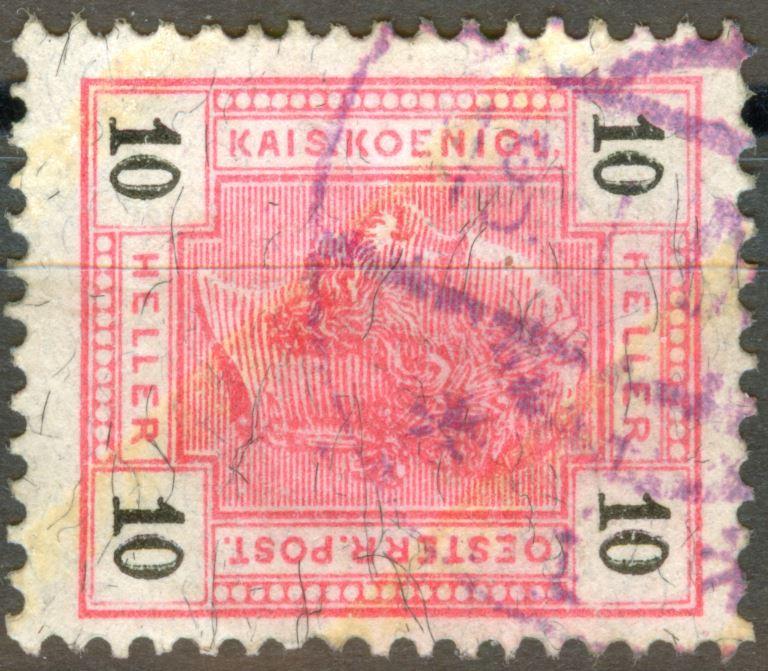 Österreich - Schwarze Fasern - liegend oder stehend! At_1904_10h_lack_mi_00