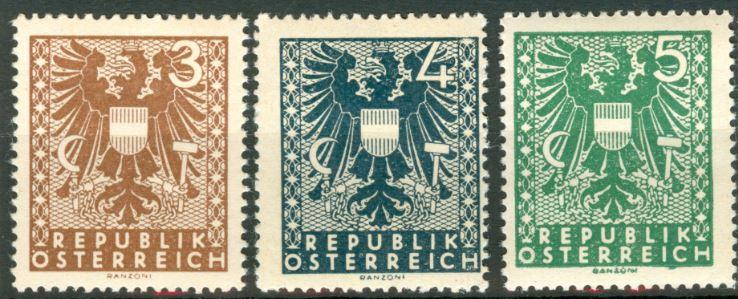 1945 Wappenzeichnung At_1945_wappen_deel_1
