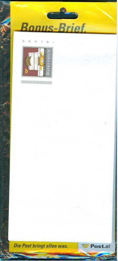 Bonusbriefe der österreichischen Post At_2001_bonus_800017_02