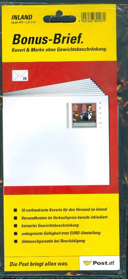 Bonusbriefe der österreichischen Post - Seite 2 At_2001_bonus_800031_00