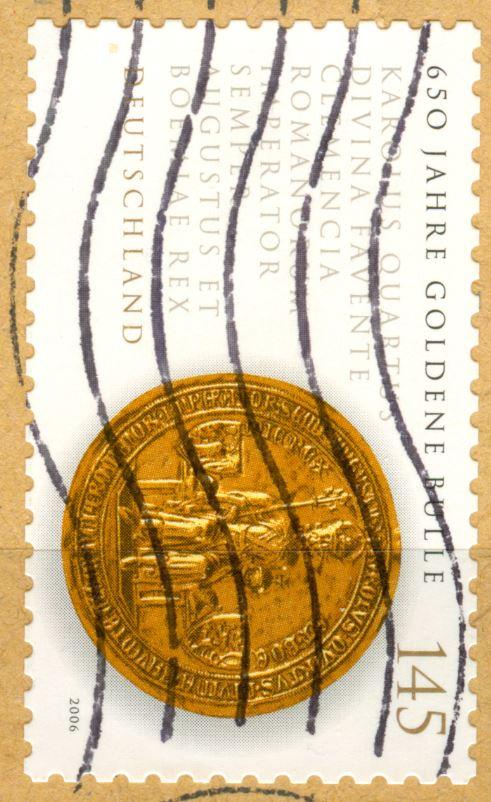 Neue SAD's - unterschiedliche Weissdrucke bei dieselbe Briefmarken!  De_2006_goldene_bulle_130