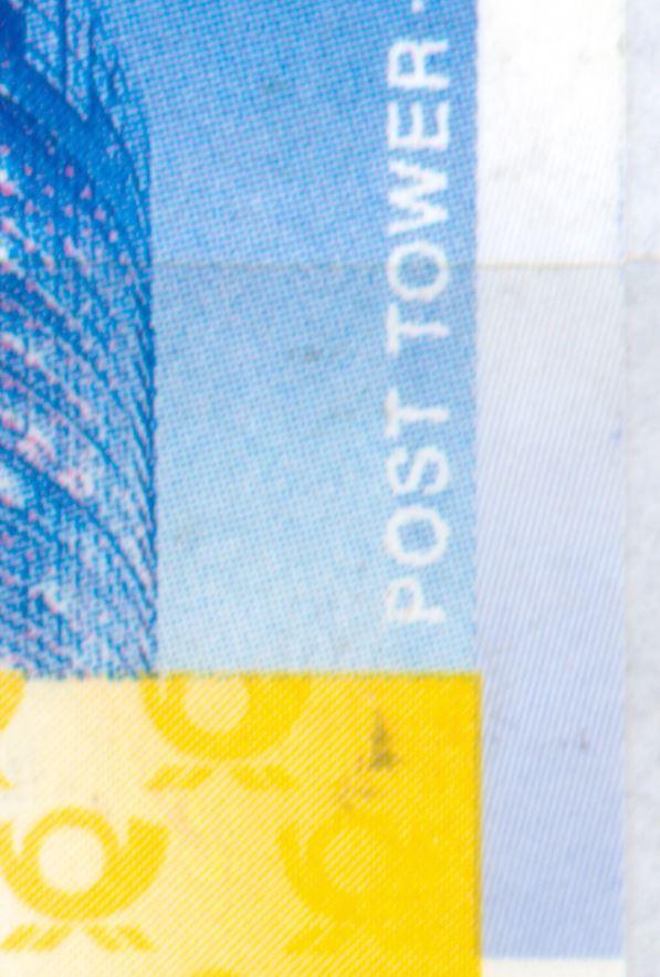 ATM 2008 Rastervarianten nicht  früher in Michel Spezial erwähnt!   De_2008_atm_posttower_75_01